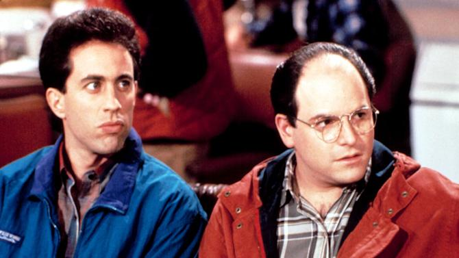 George Costanza and Jerry Seinfeld (Seinfeld)