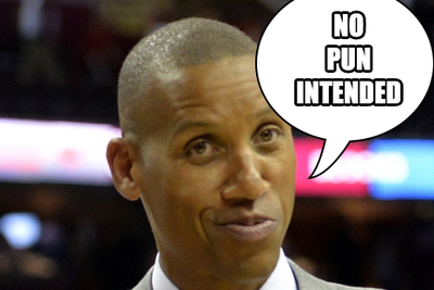 That is not how puns work, Reggie Miller