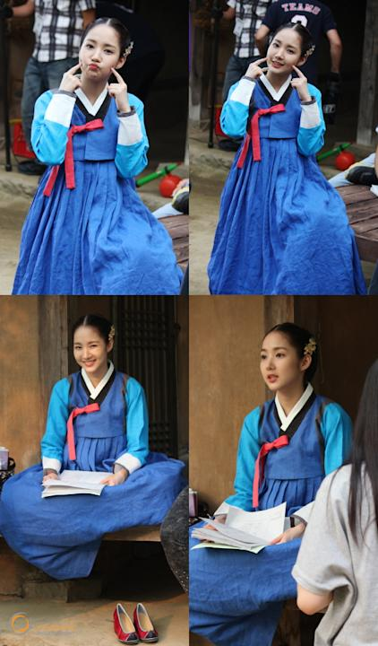 Park Minyoung at the filming set of 'Dr. Jin'