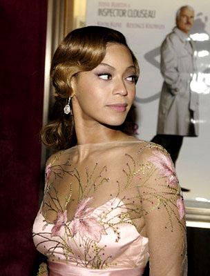 Beyonce Knowles at the New York premiere of MGM/Columbia Pictures' The Pink Panther