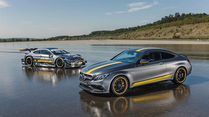 Inspired by Motorsport. Mercedes-AMG is bringing the C 63 Coupé Edition 1 special model to the starting line.