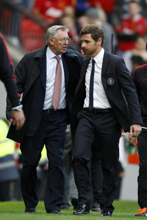 Sir Alex Ferguson (left) and Andre Villas-Boas