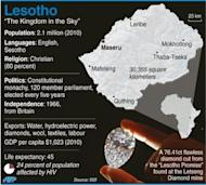 Lesotho counted ballots Saturday after a tight general election -- dominated by personal clashes rather than concerns over poverty -- that could produce the southern African nation's first coalition government