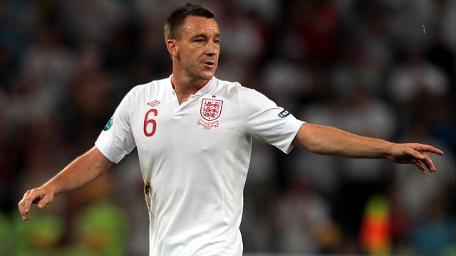 John Terry retires from international football