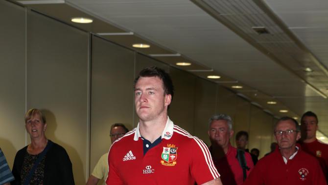 Rugby Union - British and Irish Lions return - London Heathrow Airport