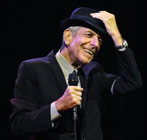 "FILE - In this April 17, 2009 file photo, Leonard Cohen performs during the first day of the Coachella Valley Music & Arts Festival in Indio, Calif. It's hard to think of any song that has taken a stranger journey through popular culture than Leonard Cohen's ""Hallelujah."" Author Alan Light's book, ""The Holy or the Broken,"" releasing on Dec. 4, 2012, is about the trajectory of the song, ""Hallelujah,"" and about Cohen and its most celebrated singer, the late Jeff Buckley. (AP Photo/Chris Pizzello, File)"