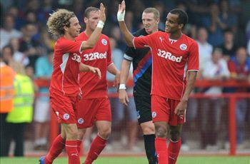 Crawley Town 3-0 Crystal Palace: League One club upset Holloway's side