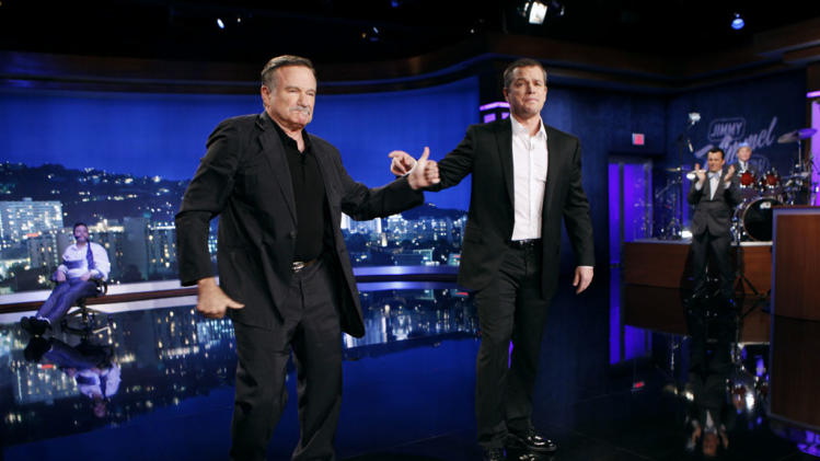JIMMY KIMMEL LIVE - JIMMY KIMMEL, ROBIN WILLIAMS, MATT DAMON, DICKY BARRETT