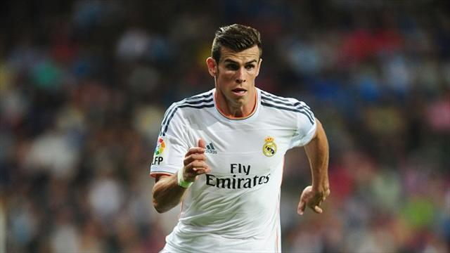 Liga - Bale set to be on bench for Real's clash with Celta