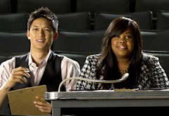 Harry Shum Jr. and Amber Riley | Photo Credits: Adam Rose/FOX