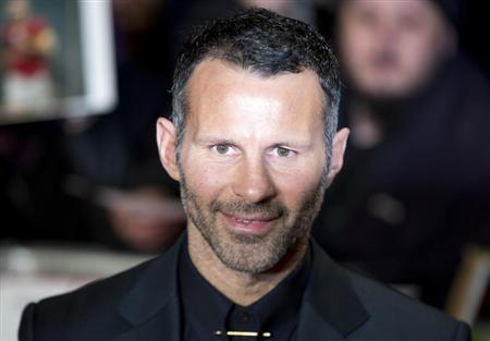 """Soccer player Ryan Giggs attends the world premier of the film """"The Class of 92"""" in London"""