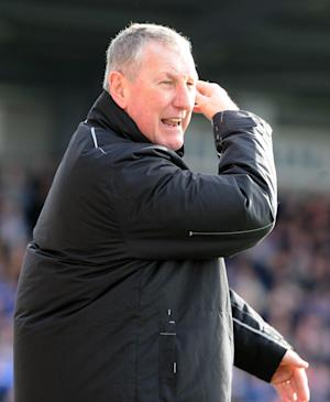 Terry Butcher was unhappy with the standard of refereeing in his team's 1-1 draw with Aberdeen
