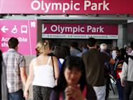 Spectators exit Stratford Station in east London as they make their way to the Olympic Park on day seven of the London 2012 Olympic Games. Organisers have sold a record 2.1 million tickets for the London 2012 Paralympics, beating the previous mark set at the 2008 edition in Beijing
