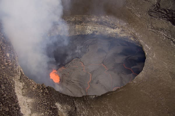 Kilauea Lava Lake Hits Record Height