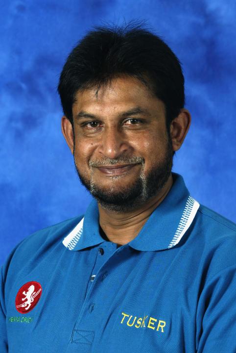 A portrait of Sandeep Patil the Coach of Kenya