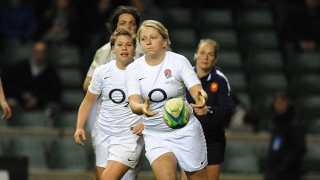 Rugby - England fall to narrow Canada defeat