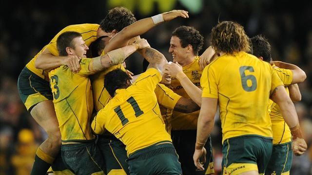 Australia bring in new faces to face Pumas