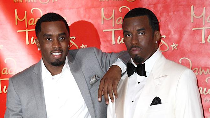 Combs SeanP Diddy Wax Unveiling