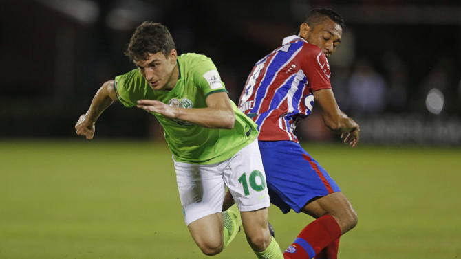 Wolfsburg 0-0 (3-2 pens) Bahia: Germans beat Bahia on penalties after goalless draw