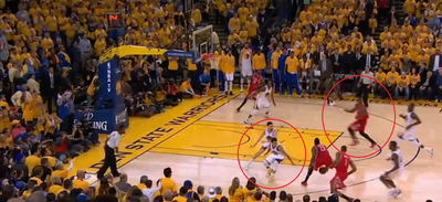 NBA playoffs scores 2015: Stephen Curry, James Harden show mortality in final moments of Game 2