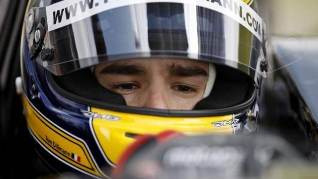 GP2 - Dillmann sidelined with neck injury