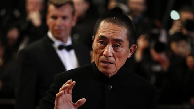 Chinese director Zhang Yimou