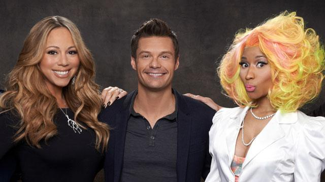 Mariah, Minaj Feud Kicks Off 'Idol'