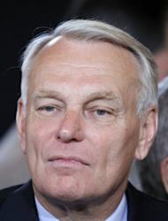 Jean-Marc Ayrault, Socialist group head at the National Assembly, attends the handover ceremony at the Elysee Palace in Paris. Francois Hollande has been sworn in as French president with a solemn vow to find a new growth-led strategy to end the crippling debt crisis threatening to unravel the eurozone