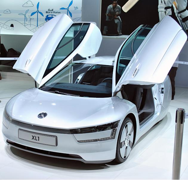 The 111kmpl Volkswagen XL1