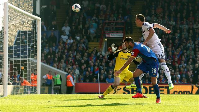 Premier League - Terry own goal hands Palace win over Chelsea