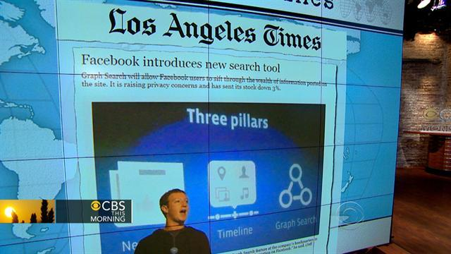 Headlines: Facebook introduces new search tool