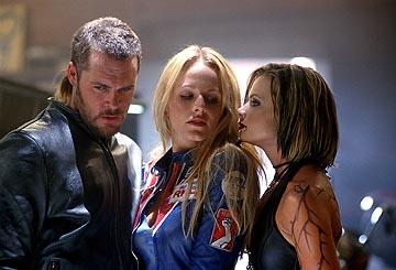 Matt Schulze , Monet Mazur and Jaime Pressly in Warner Bros. Torque