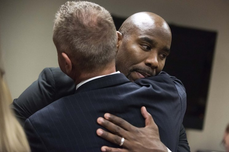 A judge dismissed charges against Mateen Cleaves on Monday (AP)