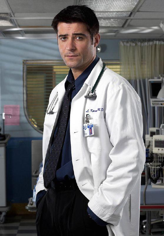 Goran Visnjic as Dr. Luka Kovac in ER on NBC.