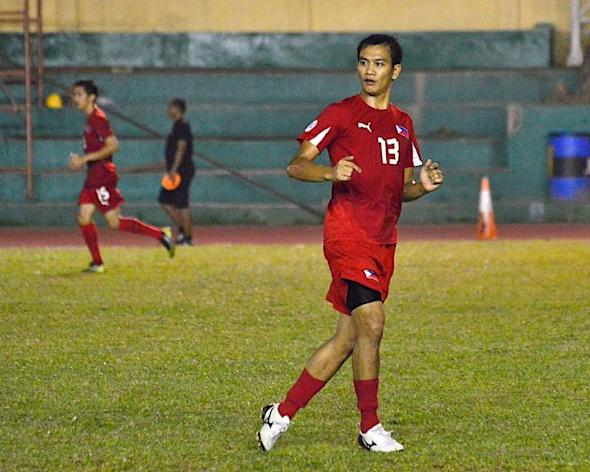 Chieffy Caligdong was the last Pinoy to score against Thailand. Image copyright Bob Guerrero.