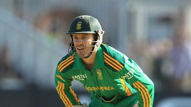 Cricket - De Villers banned for slow play
