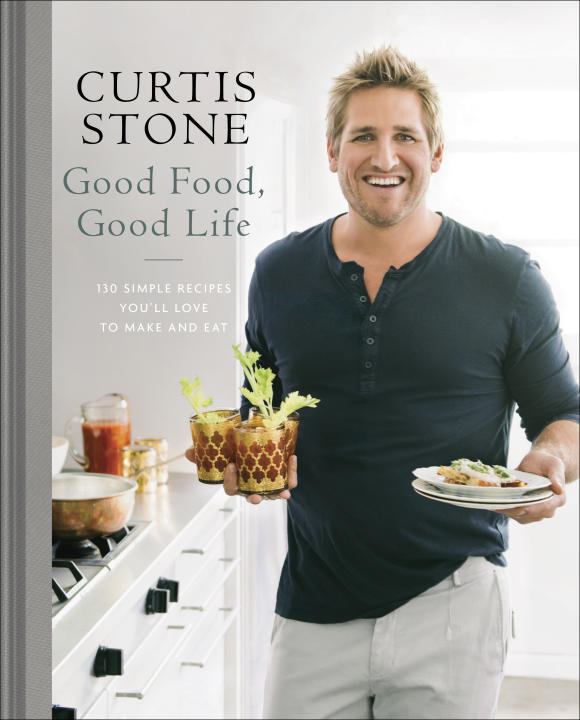 "This image provided by Ballantine Books/Random House Adult Trade Group on Friday, Feb. 13, 2015 shows the cover to the book ""Good Food, Good Life"" by Curtis Stone. (AP Photo/Ballantine Books"