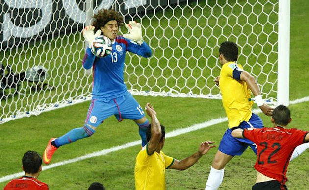 World goes berserk for incredible 'six-fingered' goalkeeper Ochoa