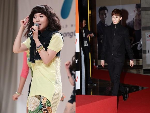 Jo Kwon becoming the emcee for Sunye's wedding