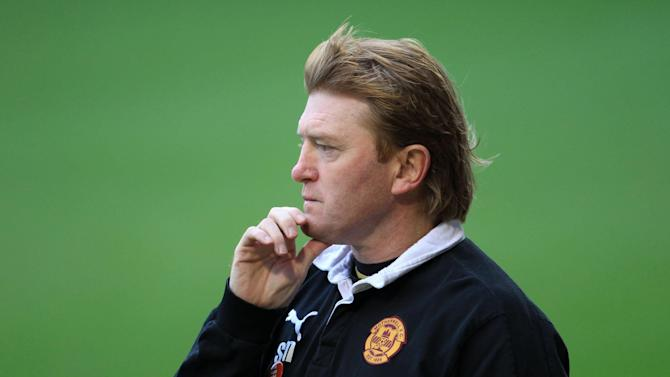 Stuart McCall's Motherwell were well beaten Second Division Ayr