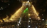 Egyptian Protesters Keep Up Pressure