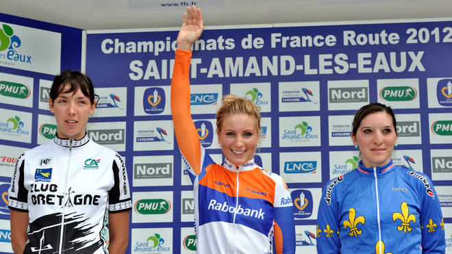 French Cyclists AFP/Getty Images