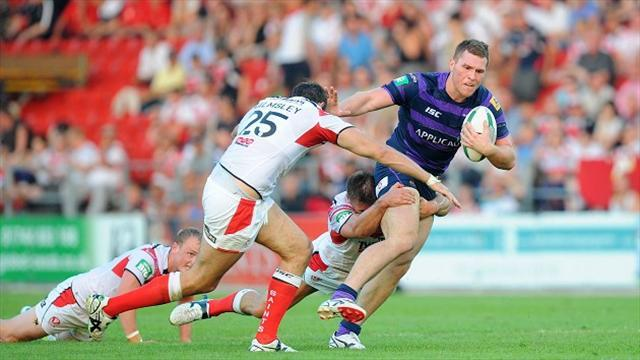 Rugby League - Late Greenwood try helps St Helens stun Wigan