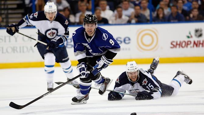Winnipeg Jets v Tampa Bay Lightning
