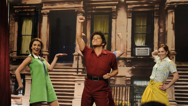 """Saturday Night Live"" -- Bruno Mars"