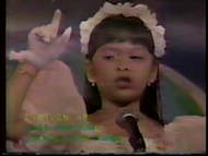 The beautiful and talented Eat Bulaga host Pauleen Luna joined the 1995 1995 Little Miss Philippines. (Screen grab from Eat Bulaga video, used with permission)
