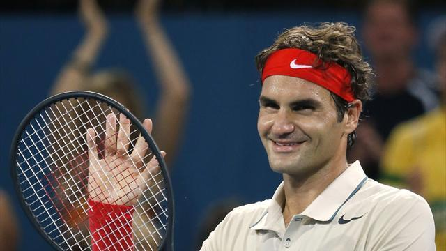 Tennis - Federer to face Hewitt in Brisbane final