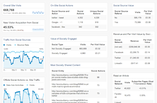 5 Free Google Analytics Dashboards That You Can Download Right Now image social media dashboard