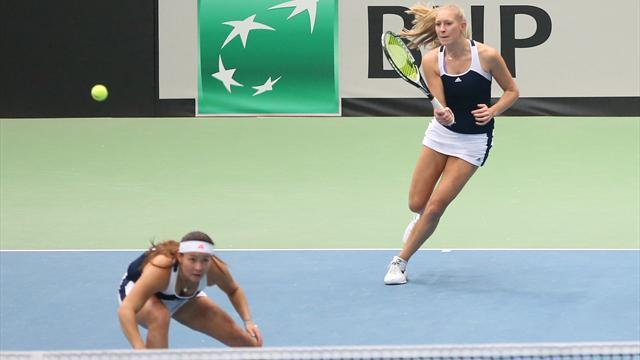 Tennis - Defeat to hosts Hungary sees Great Britain finish Fed Cup group third