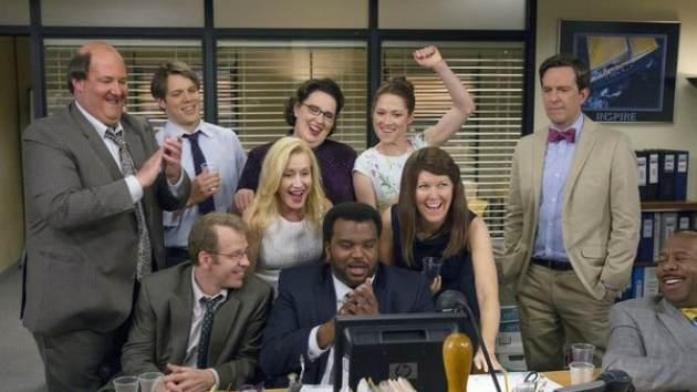 The cast of 'The Office' seen in the series finale episode on May 17, 2013 -- NBC